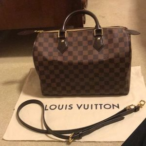 Louis Vuitton Speedy 35 Bandouliere Crossbody